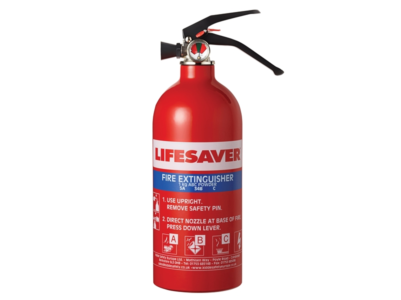 Kidde Fire Extinguisher 1Kg