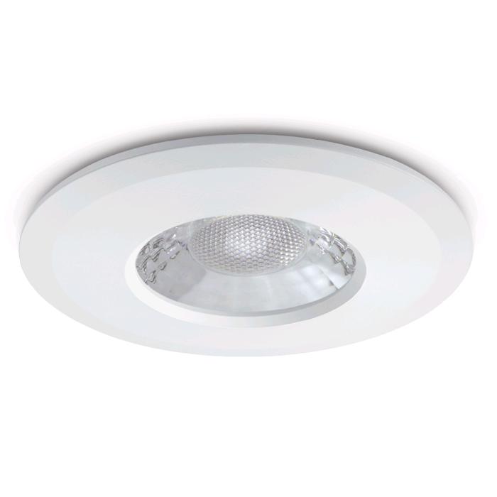 JCC Downlight White c/w GU10 Lamp