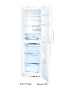 Bosch Fridge Freezer Frost Free A+ 6.8/4.5cuft H185 W60 D65