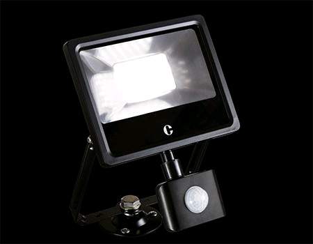 Collingwood 30W LED PIR Floodlight Colour Switchable IP44