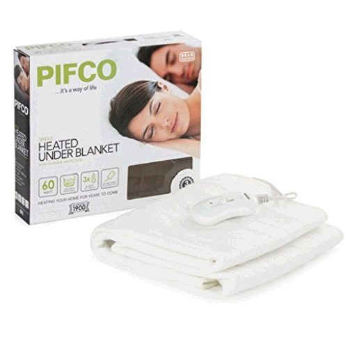Pifco PE109 Single Heated Underblanket 60W