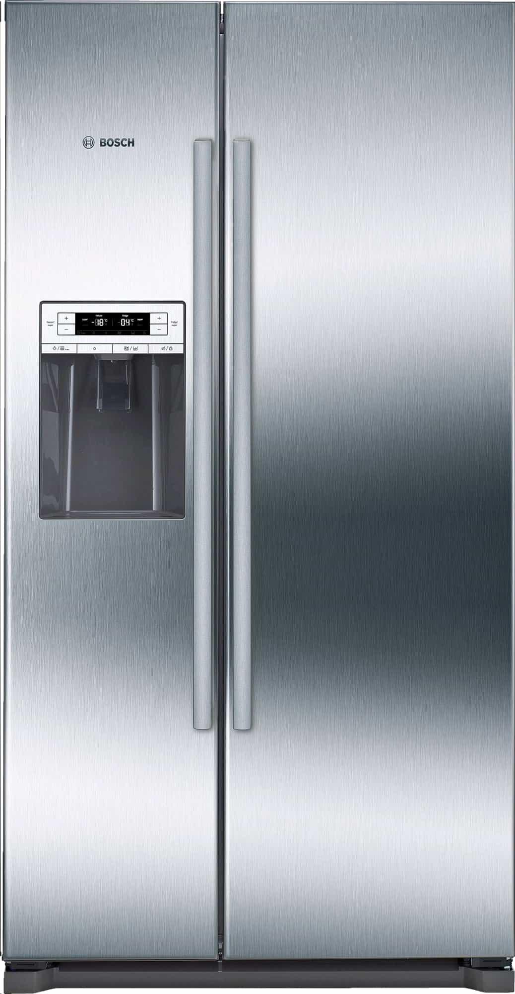 Bosch American Style Fridge Freezer Side By Side Water/Ice Dispenser Plumbed In