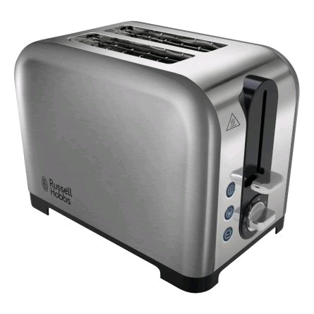 Russell Hobbs 2 Slice Toaster Polished and Brushed Stainless