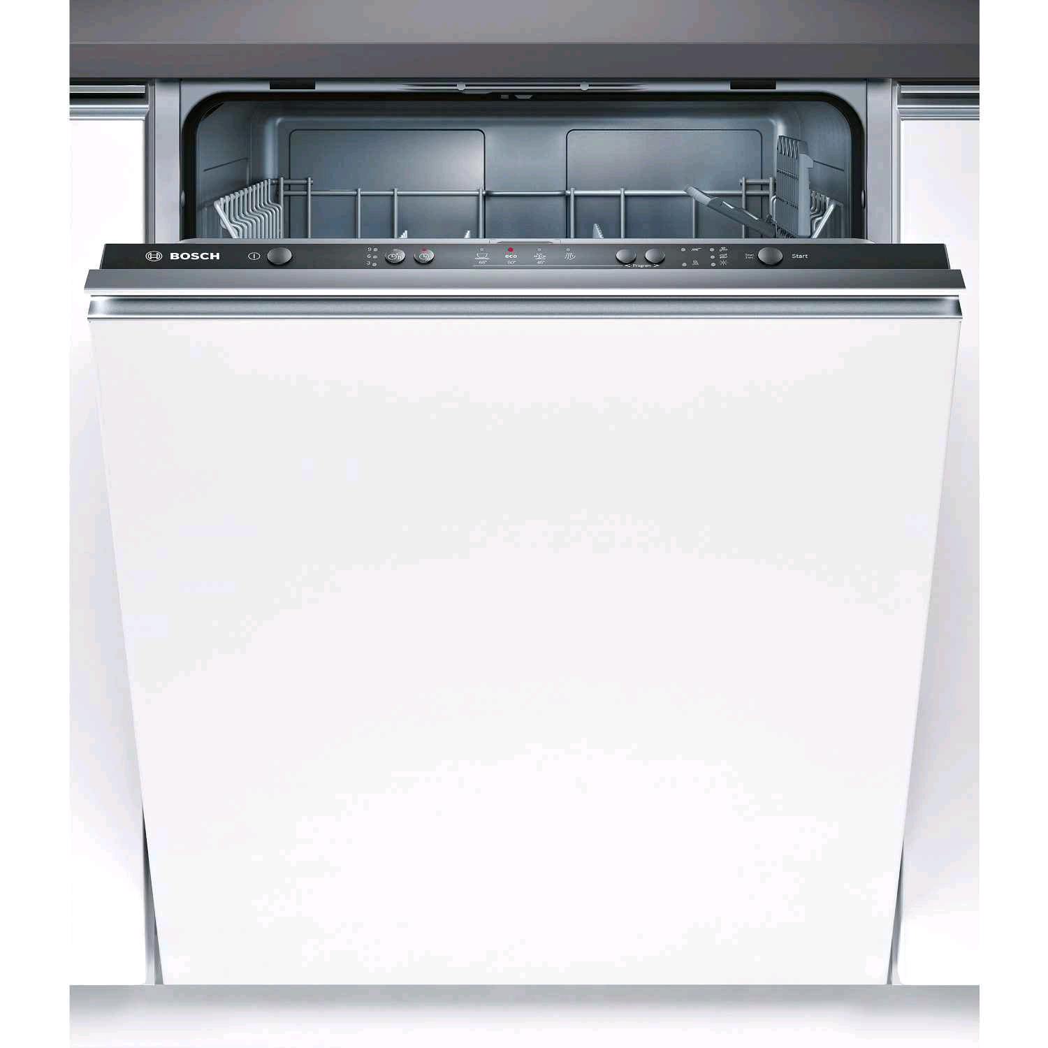 Bosch Dishwasher Built In 12 Place A+ White Fully Integrated H81.5  W59.8 D 55.0cm