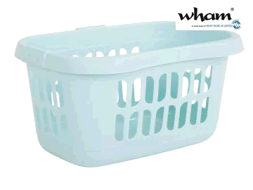 WHAM 7862974 Hipster Laundry Basket Duck Egg 17481