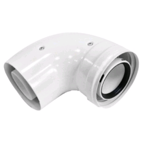 Viessmann 45° Flue Elbow 60 - 100mm