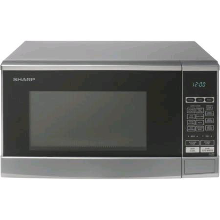 Sharp Solo Microwave 20L  800w Silver
