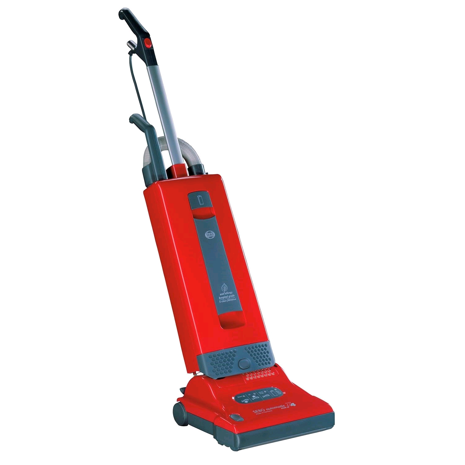 Sebo X4 Upright Vacuum Cleaner Bagged 1100w Red