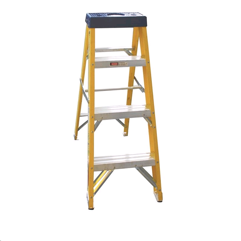Greenbrook F/Glass 3Step + 1 Stepladder