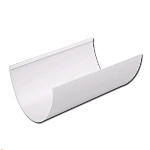 Floplast Hi-Cap 115mm Gutter 4mtr White RGH4W