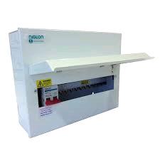 Niglon 14Mod 10 Free Ways Distribution Board 100A DP Isolator Inc SPD
