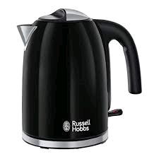 RUSSEL HOBBS 1.7L 3000W Colour+ Kettle BLACK