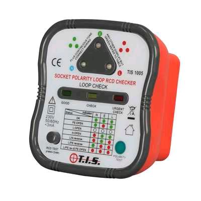 TIS Socket & RCD Tester