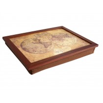 Home Living Vintage Map Lap Tray