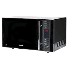 Igenix 25Ltr 900w Digital Combination Microwave Black Glass