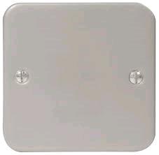 BG Metal Clad 1gang  Blank Plate