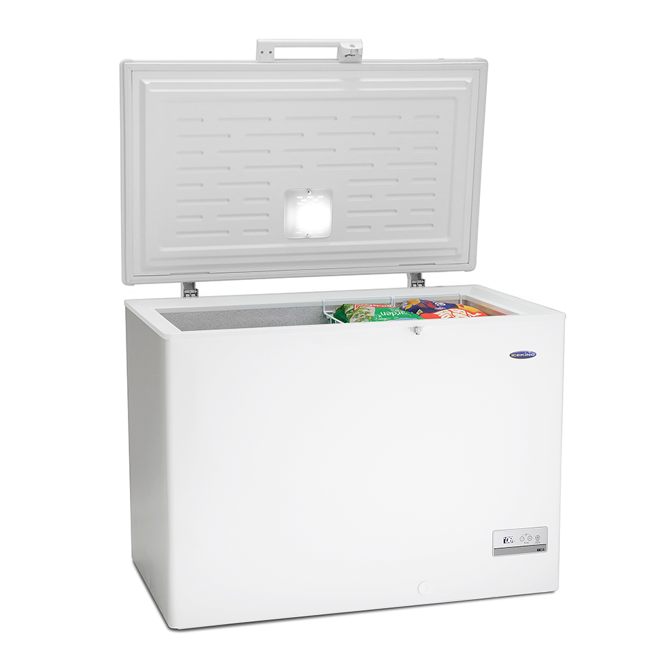 "Iceking 11 cu ft Chest Freezer A+ H860 W1100(43""Wide) D745cm"