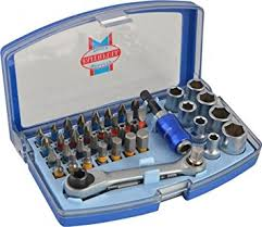 Faithfull Screwdriver 42Pce Bit Set & Sockets