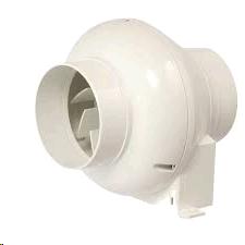 """Manrose 4"""" 100mm Centrifugal Timer CFD200T LED Shower Fan Kit"""