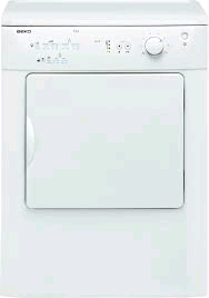 Beko Vented Tumble Dryer 6KG Reverse Action C Rated H850 W600 D540