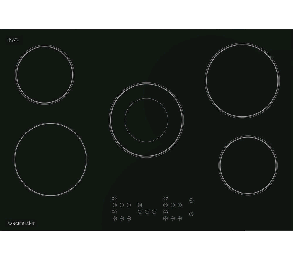 Rangemaster Electric Ceramic 75cm  5 Zone Hob