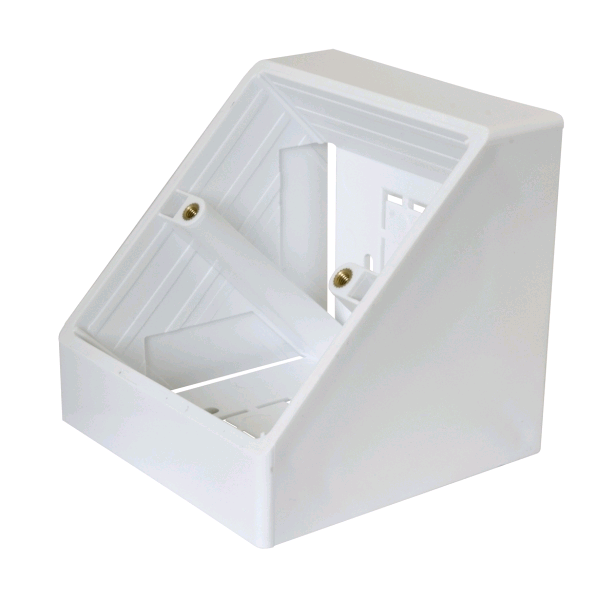 CIE Single Angled Surface Pattress Box