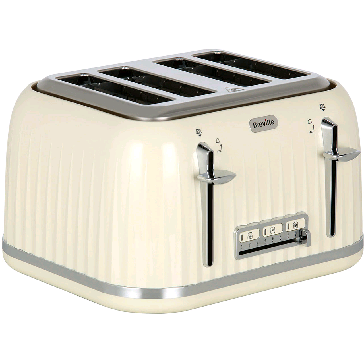 Breville Impressions 4 Slice Toaster Cream