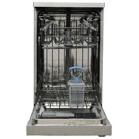 Servis Slimline Dishwasher 10 Place Silver 6 Programmes