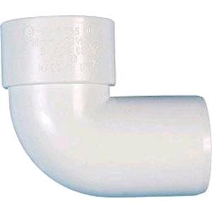 Floplast Wasterpipe Spigot Bend 50mm Solvent Weld