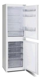 Montpellier Built In Integrated Fridge Freezer 50/50 Split Manual Defrost