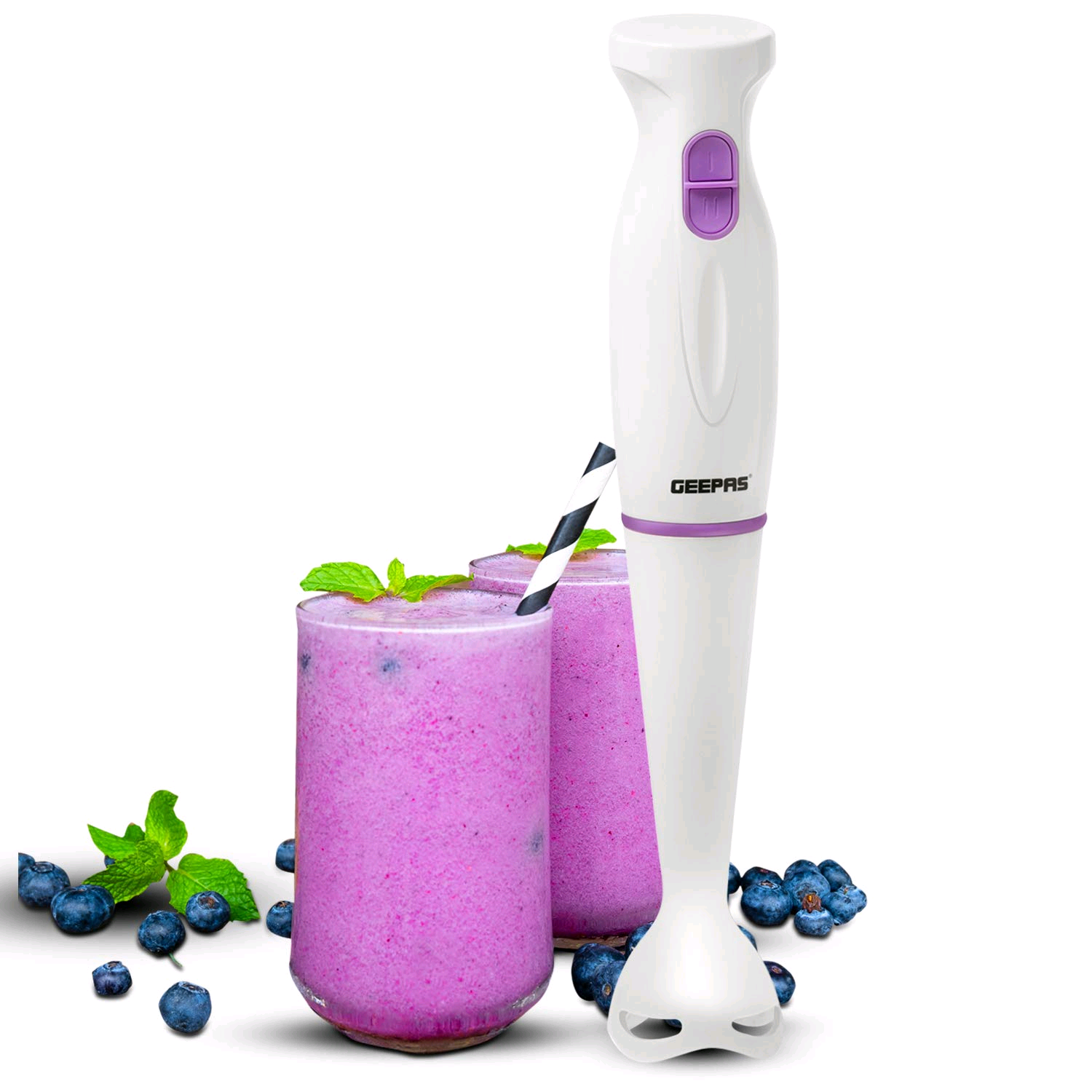 Geepas GHB43015UK Hand Blender 200W