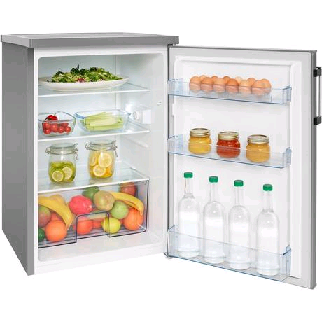 Hisense Undercounter Larder Fridge 138ltr in Stainless Steel H845 W555