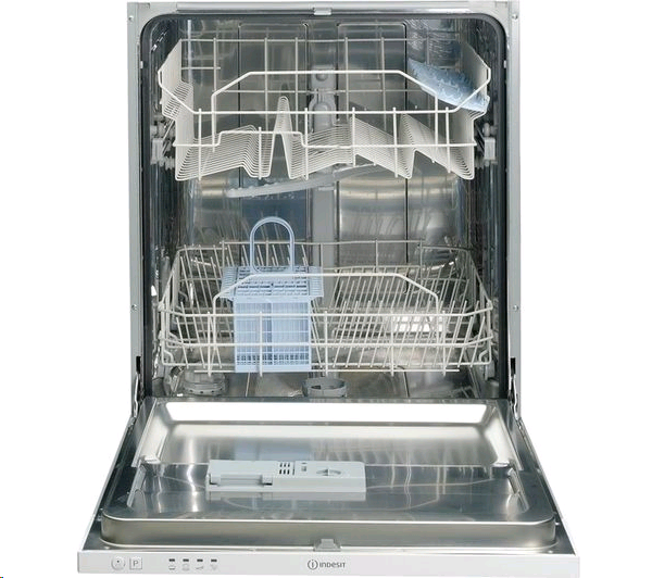 Indesit DIF04B113 Fully Integrated Dishwasher 13 Place Ecotime
