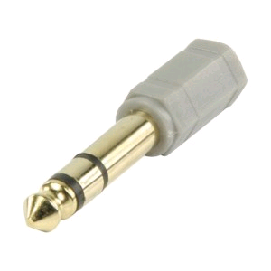 Bandridge Headphone Adaptor 6.3mm Jack to 3.5mm Female