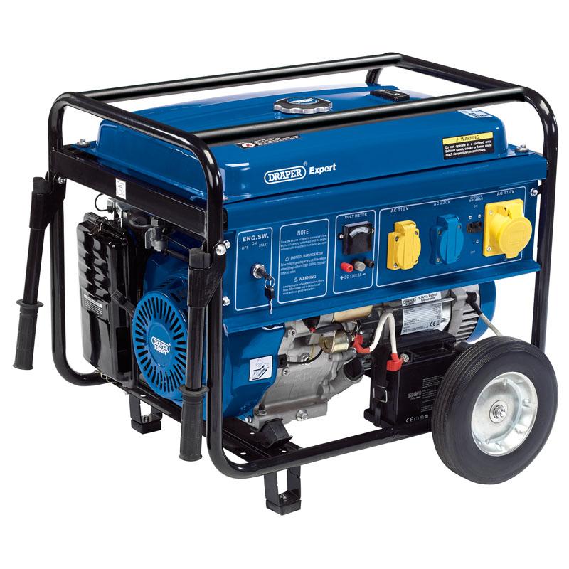 Draper 5.5KVA Petrol Generator