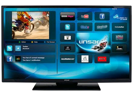 Linsar 32inch LED Smart Freeview HD TV 5 Years