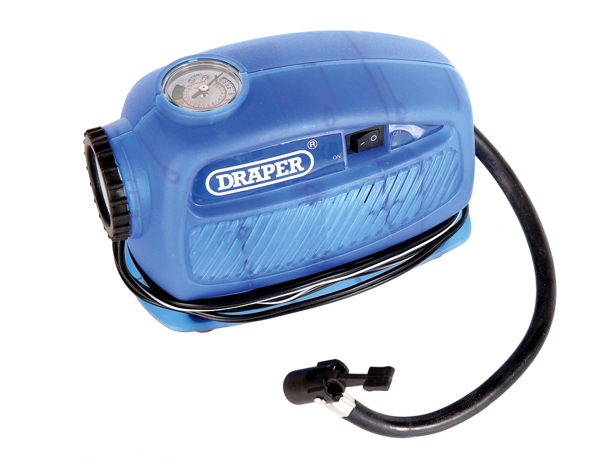 Draper 12V Mini Air Compressor 250psi (max)