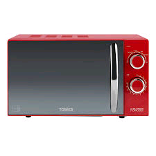Tower Manual Microwave 800w with Black Mirror Effect Door