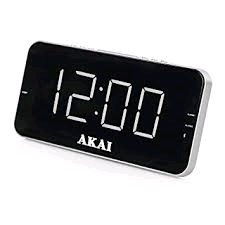 Akai PLL AM/FM Alarm Clock with Radio