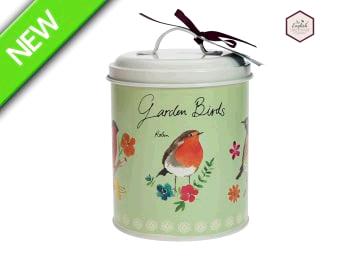 English Tableware Company 1652815 Garden Birds Store/Biscuit Tin DD1904B01