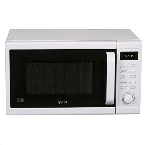 Igenix 20Ltr 800w Digital Microwave White