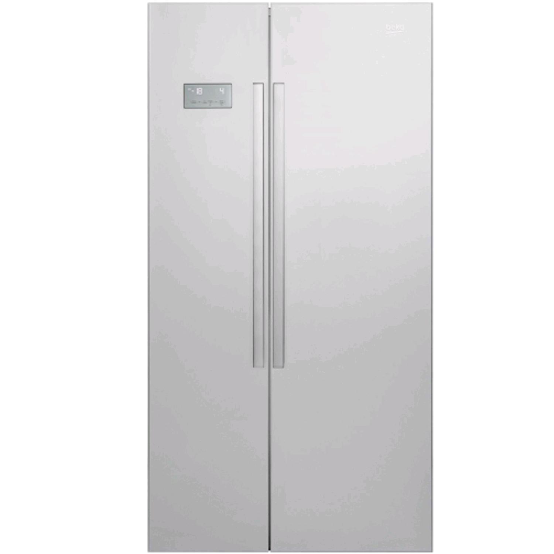 Beko American Style Fridge Freezer S/S 393/242Ltrs H179xW91xD72 cm