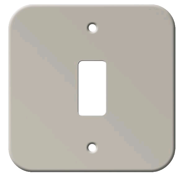 BG Single Grid Metal Clad Front Plate