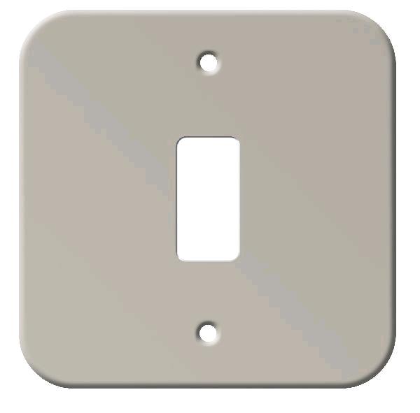 BG Single Grid Metal Clad Front Plate