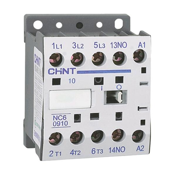 Chint 230V 9A AC3 Mini Contactor 3 main + 1 N/O Aux.
