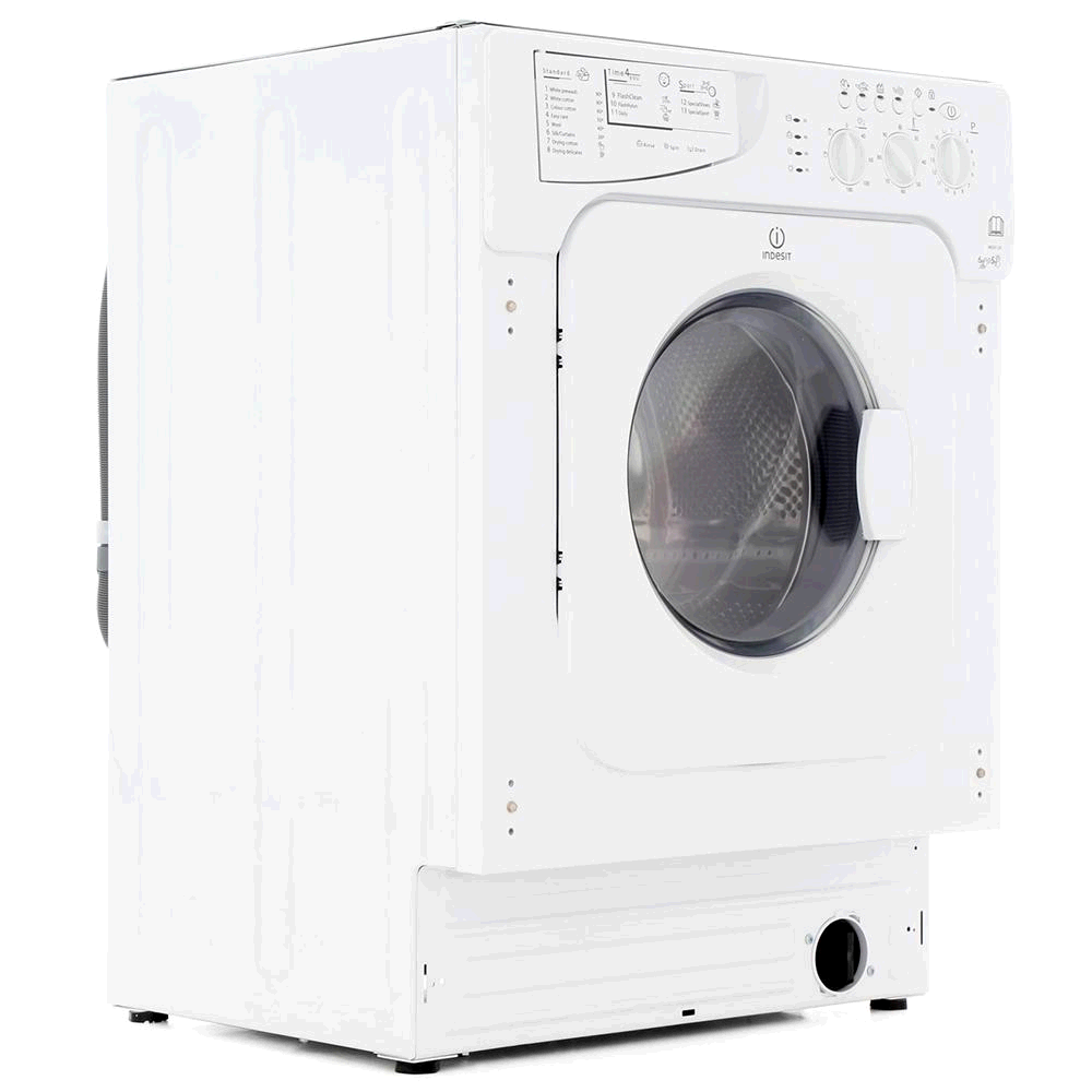Indesit Fully Integrated Washer Dryer 6kg 1200 Spin Speed Wash 5kg Load