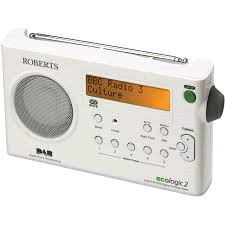 Roberts DAB/FM Radio With Built-in Barrety Charger