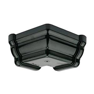 Floplast Niagara Square Gutter 90deg External Angle Black