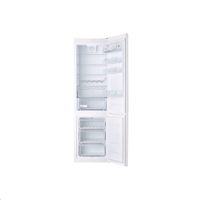 Hotpoint Low Frost Fridge Freezer WHITE 200cm 60cm Electronic Control