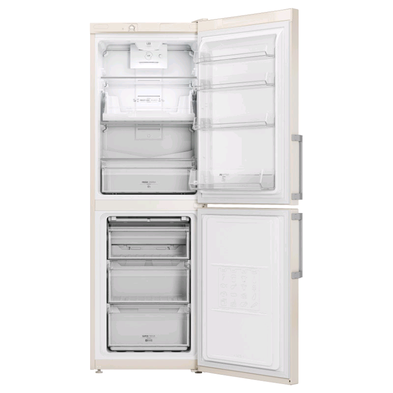 Hotpoint Frost Free Fridge Freezer CREAM 188/108Ltrs H178 W60